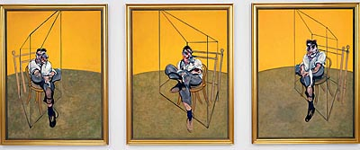 «Three Studies of Lucian Freud». Фрэнсис Бэкон © pictify.com